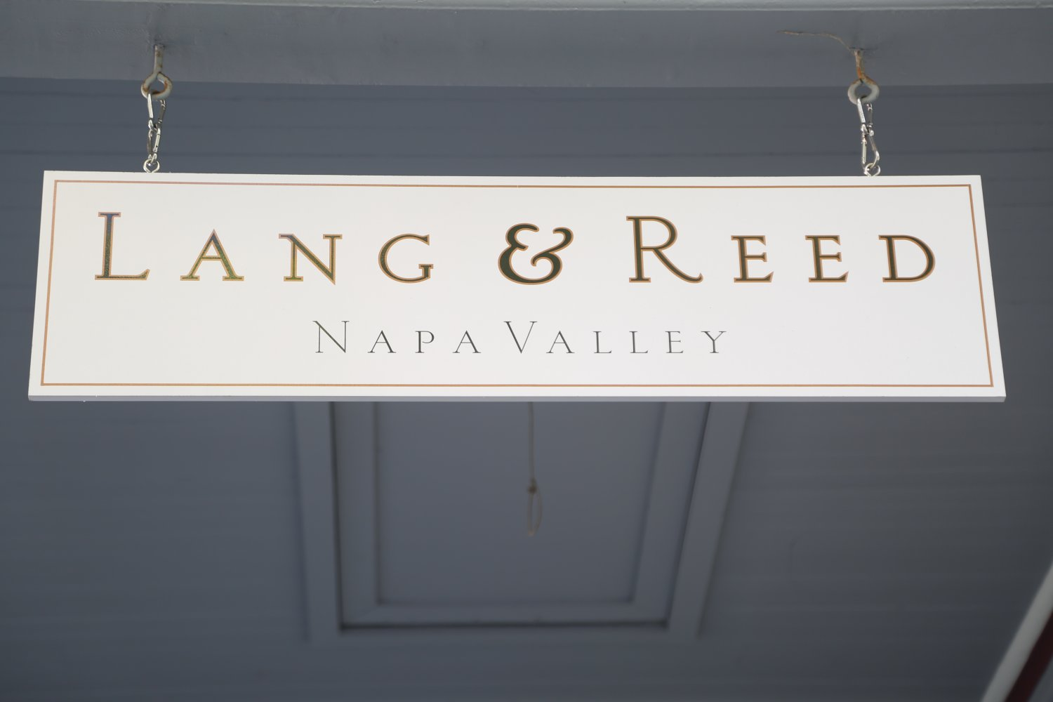 Lang Reed Wine Company The Napa Wine Project