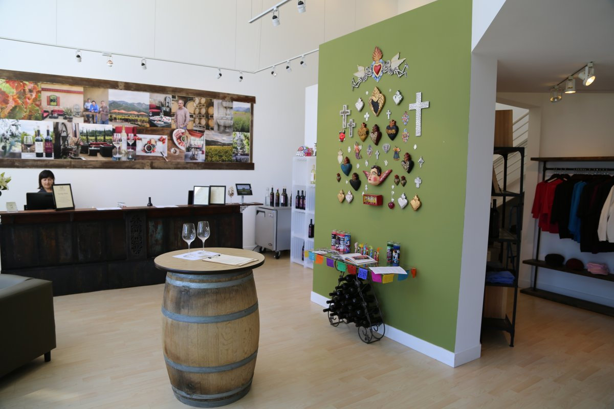Madrigal Family Winery Tasting Room Sausalito