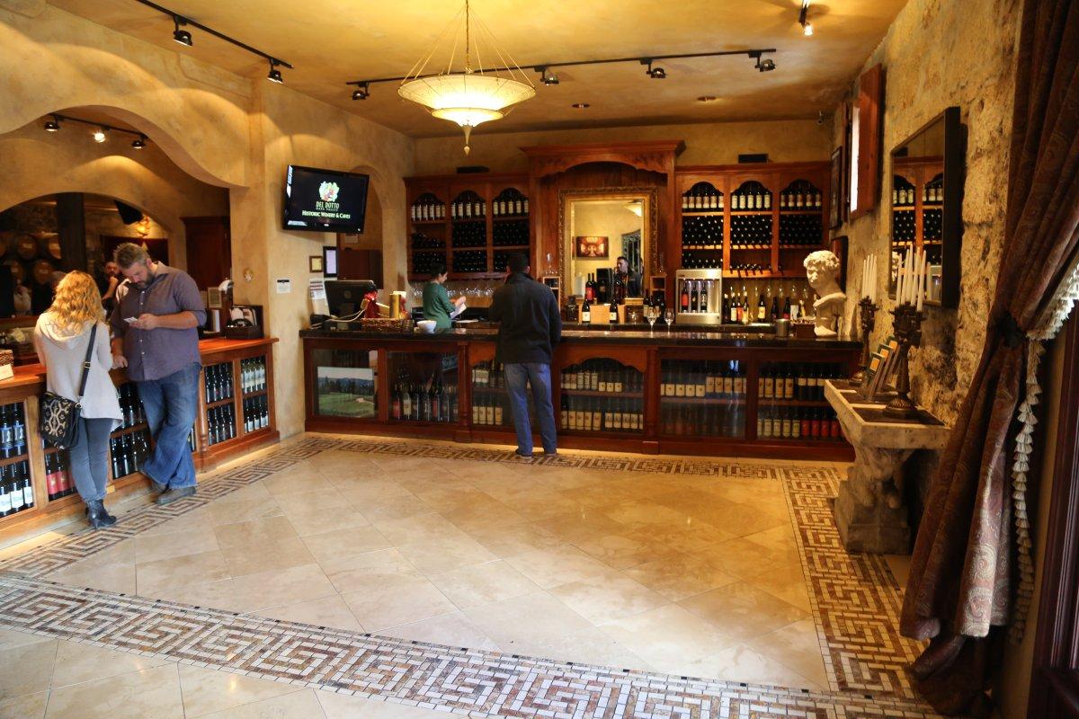 Del Dotto Vineyards The Napa Wine Project