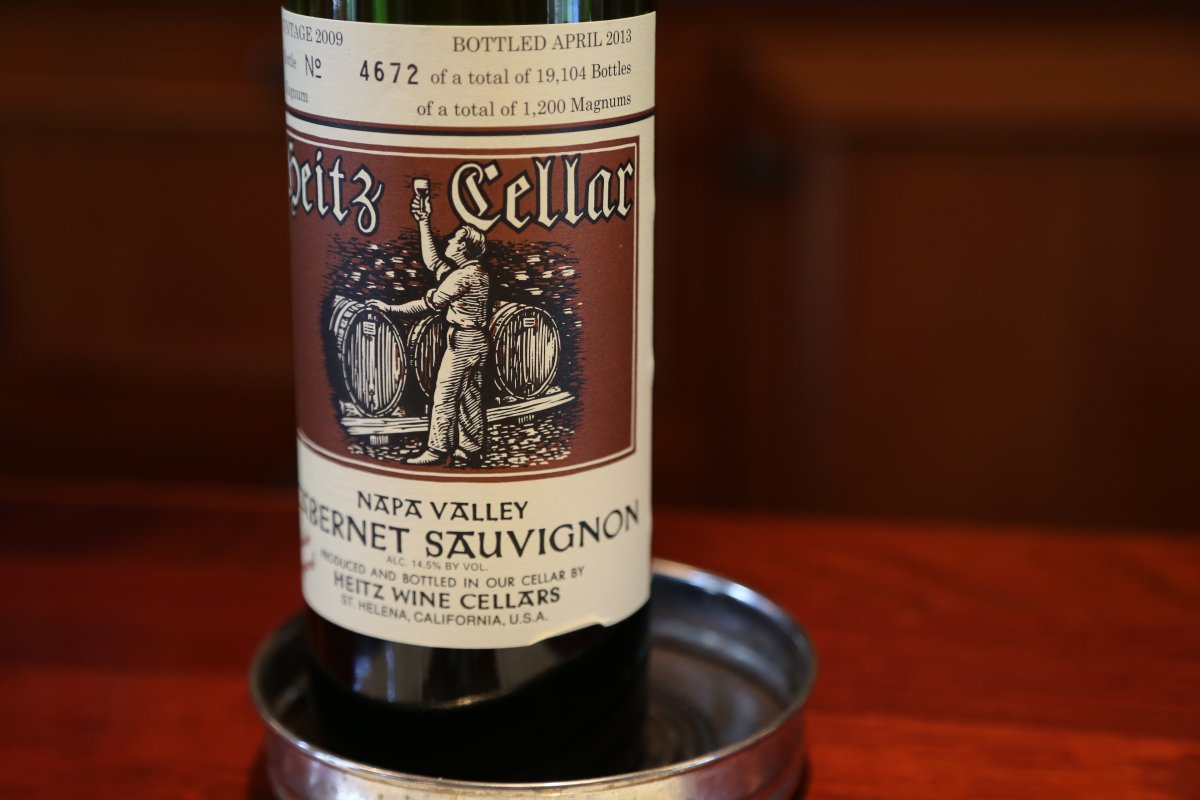 Heitz Cellar The Napa Wine Project